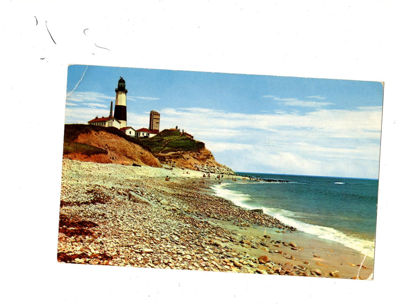 Montauk Point and Light , Long Island , New York (1969)