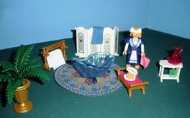 Vintage Playmobil Fairy Tale Castle #3031 Royal Washroom 100% /NR MT-MT ... - $45.99