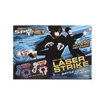 Kids Spy Net Battle Mission Pack Infrared Laser Tag Battle Gun Action Ga... - $59.49