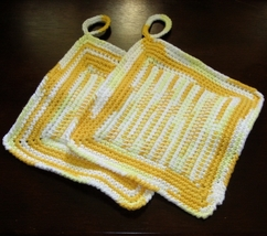 Yellow ombre pair of pot holders tunisian center rect img 3675 af 750w 96 thumb200