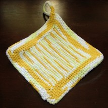 Yellow ombre pair of pot holders tunisian center single2 back sq img 3678 af 750x 96 thumb200