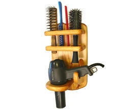 Bathroom Organizer  Hair Dryer  Brush Comb Holder - $34.95