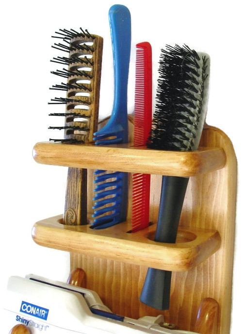 Bathroom Organizer  Hair Dryer  Brush Comb Holder