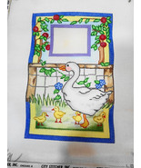 """Room Sign Duck Ducklings Outdoors Window Needlepoint Canvas 5 1/4 x 8"""" 1... - $30.37"""