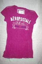 Aeropostale Athletics Graphic T Shirt Size S Juniors - $9.99