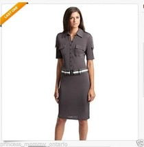 NEW Womans GUESS BY MARCIANO Fay Shirtdress Dre... - $100.00