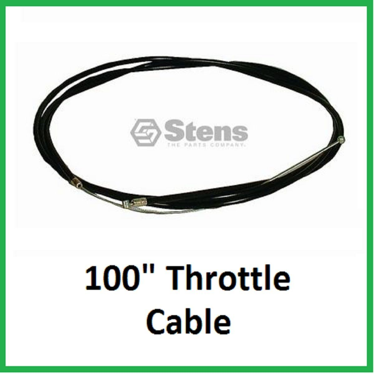 "Primary image for Throttle Cable 100"" fits Go Cart Mini bike Chopper Kart 786201 19410601 TC92"