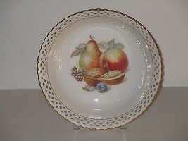 Schumann Arzberg German Bowl with Reticulated E... - $44.54