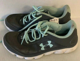 Green And Grey Under Armour Women's Shoes Size 8.5 - $34.06