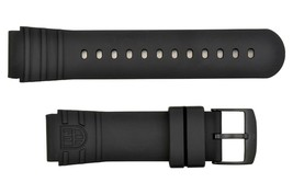 Luminox Watch Band Strap 22mm PU Sea Turtle Giant 0321.BO Black - $51.95