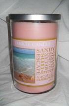 Yankee Candle Escape 20 oz jar 2 wick Pink - $23.71