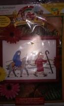 Road to Bethlehem Beginner's Bible Just Crossstitch Kit Sealed #43031 - $11.29