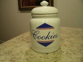 Nice Vintage Early 1990s Badcock Home Furnishings Cookie Snack Treat Jar - $24.26