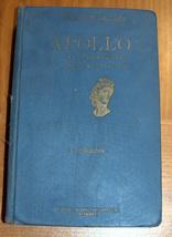 Antique Book Apollo Salomon Reinach Italian Illustrated Art Book ~1920 Italy  image 2