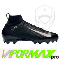 Nike Vapor Untouchable Pro 3 Men Football Cleats Size 9  [917165-009] Black - $59.00
