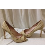 Womens Tan Studded Vince Camuto Heels Size 10 - $29.69