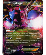 Hydreigon EX 62/108 Holo Ultra Rare Roaring Skies Pokemon Card - $3.99