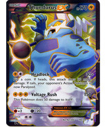 Thundurus EX 98/108 Holo Ultra Rare Roaring Skies Pokemon Card - $6.99