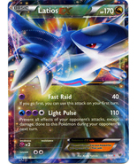 Latios EX 58/108 Holo Ultra Rare Roaring Skies Pokemon Card - $3.99