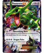 Rayquaza EX 75/108 Holo Ultra Rare Roaring Skies Pokemon Card - $7.99