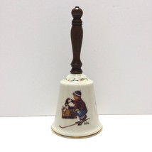 "Vintage 1979 Gorham Fine China ""A Boy Meets His Dog Bell"" by Norman Rock... - $9.75"