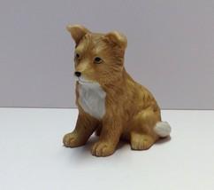 Vintage Homco Home Interiors Collie Or Corgi Puppy Figurine # 8828 - $5.83