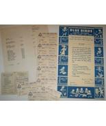 1940's-50's BLUE BIRDS & CAMP FIRE GIRLS Memorabilia - $9.99