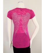 GUESS Logo Bling T-Shirt Knit Top Juniors Red Pink Gray XS SML MED LG XL - $9.95