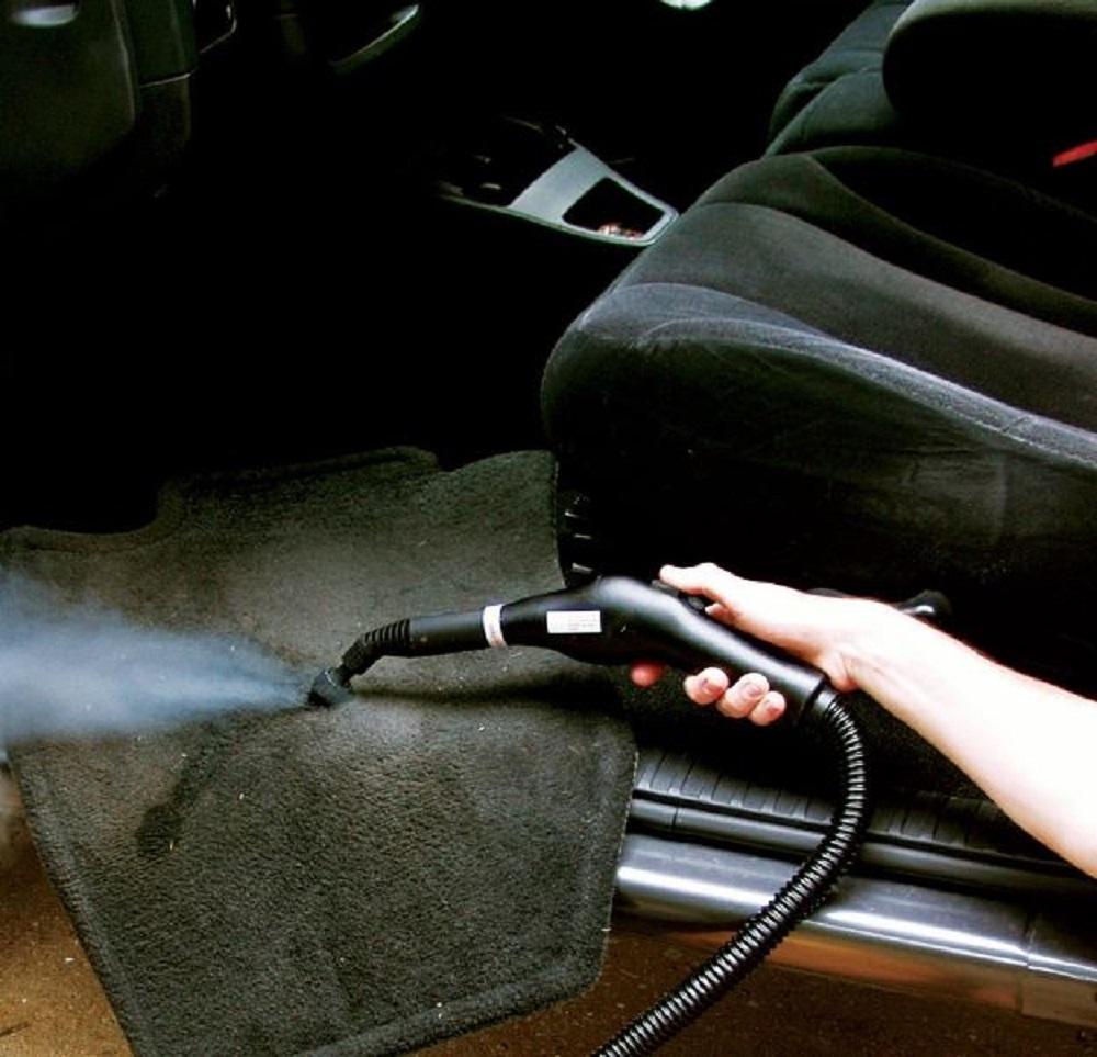 Steam Cleaner Garage Shop Auto Floor Mop Indoor Outdoor Heavy Duty Handyman Tool