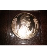 1 oz Copper Round Lincoln Bust New .999 Fine - $7.95