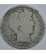 1899 P Barber circulated silver half  - $20.00