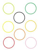 Scallop Circles 2-Download-ClipArt-ArtClip-Digital Tags-Digital - $2.00