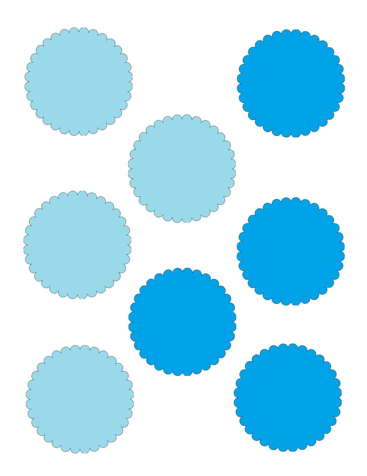 Scallop circles 7