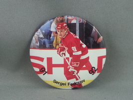 Detroit Red Wings Pin - Featuring Sergei Federov - From 1991  - $19.00