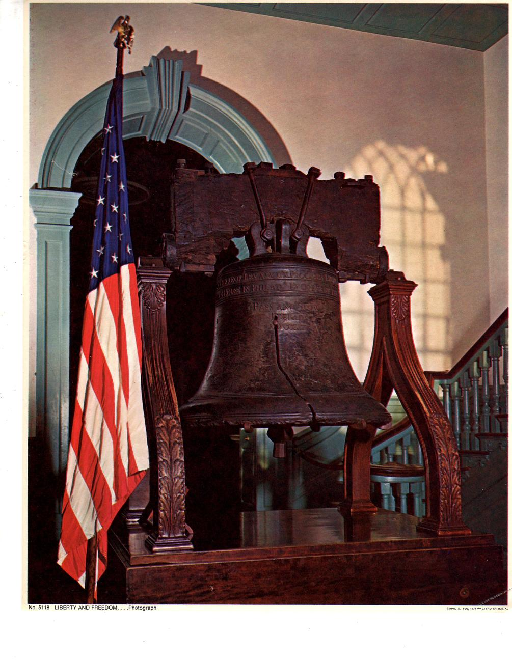 Primary image for Liberty Bell Philadelphia, Pa. (1974)