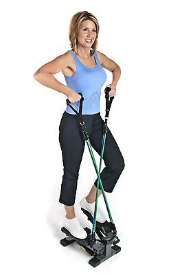 Compact Cardio Training Step Machine Trainer Stepper Exercise Equipment Electric
