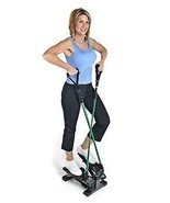 Compact Cardio Training Step Machine Trainer Stepper Exercise Equipment ... - £65.71 GBP
