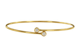 Tiffany & Co. Elsa Peretti Diamond Hoop Single-row Bangle - $1,520.00