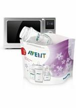 Phillips Avent Microwave Sterilizing Bags    SCF297/05 NEW IN BOX - $10.73