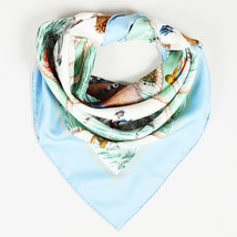 "Hermes Silk ""Auteuil en Mai"" 90cm Scarf - $305.00"