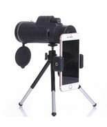 Monocular Telescope 40*60 Night Vision Lens Tripod Compass Mobile Phone ... - $34.64