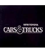 1978 Toyota Brochure Celica Corolla Corona Truck - $5.55