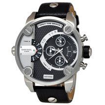 Diesel DZ7256 Little Daddy SBA Chronograph Leather Mens Watch - $167.68 CAD