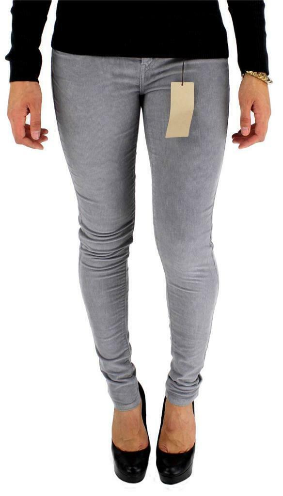 Levi's 535 Junior's Classic Corduroy Skinny Leggings Gray 119970131