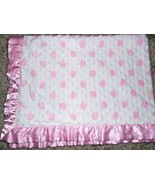 Carters Just One Year Baby Blanket Thank Heaven for Little Girls Polka D... - $31.55