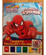 MAGIC PAINT POSTERS ULTIMATE SPIDER-MAN 12 SHEETS - $3.91