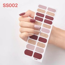 Nail Polish Strips 22-count Nail Art Polish Sticke INS Popolar Style-US ... - $3.99