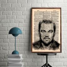 Celebrity Art Print-Leonardo DiCaprio Art Print-Movie ArtPrint-Leonardo ... - $11.82