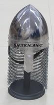 NauticalMart Medieval Nasal Helmet W/Chainmail Halloween Costume - $199.65