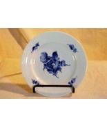 "Royal Copenhagen Blue Aster Flower Bread Plate 5 5/8"" - $9.00"